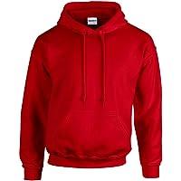 Gildan - Unisex Kapuzenpullover 'Heavy Blend' , Red, Gr. S