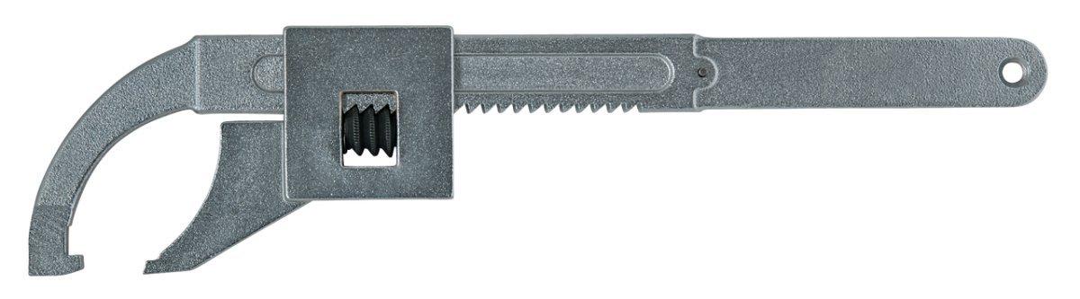 KS Tools 517.1397 Gelenk-Hakenschl/üssel mit Nase 10-50 mm