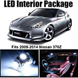 Classy Autos Nissan 370Z White Interior LED Package (5 Pieces)