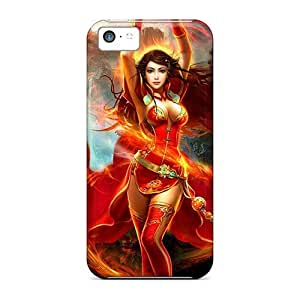 Tpye Fire Angel For Iphone 4/4s Unique iphone Forever Collectibles cover yueya's case