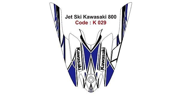 Las carreras de perros diseño gráfico etiqueta para 800 JET SKI ...