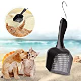 liuqingwind Pet Cats Litter Hollow Shovel Plastic Sand Scoop Waste Scooper Cleaning Tool