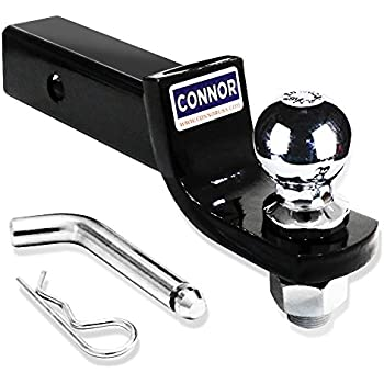 2 Ball Hitch >> Connor Trailer Hitch 2 Ball Mount With 2 Hitch Ball Gtw 5000 Lb 1623210 Ball Hitch
