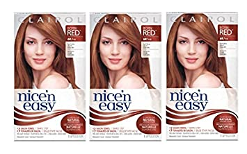 clairol nice n easy hair color 110 natural light auburn 1 kit pack of - Clairol Nice And Easy Hair Color