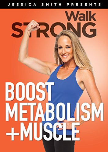 Boost Metabolism + Muscle! Strength Training for Women, Low Impact, High Results Home Exercise Video, Walk STRONG 2.0 [DVD]