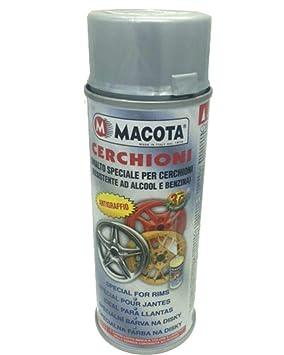 MACOTA 1210076 - Pintura Aluminio Ruedas Spray Esmalte Especial para Llantas: Amazon.es: Coche y moto