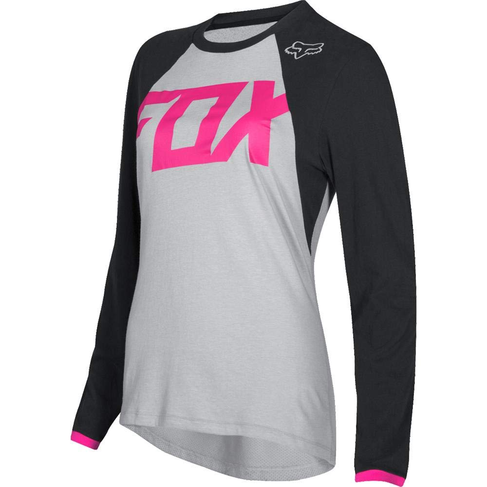 Fox Racing Switch Mata Women's Off-Road Motorcycle Jersey - Black/Pink / X-Small 21760-285-XS