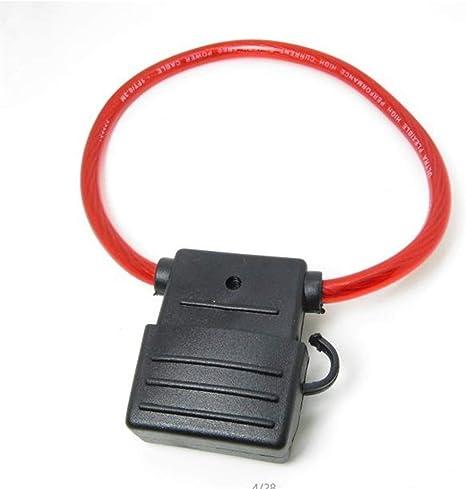 Color : 5pcs 100A Fuse Holder Opcional SJGANG 29mm Auto Cami/ón Grande del Tama/ño De La Hoja De Fusibles 20A 30A 40A 50A 60A 70A 80A 90A 100A 120A