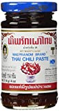 maepranom chili - Mae Pranom Thai Chili Paste (Nam Prik Pao) 4 Oz. X 1 Jars