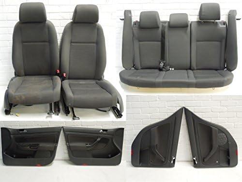 VW Golf Mk5 5 Door Grey Cloth Interior Seats Door Cards: Amazon co