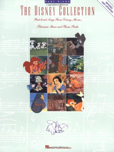 The Disney Collection (Easy Piano (168 Music Book)