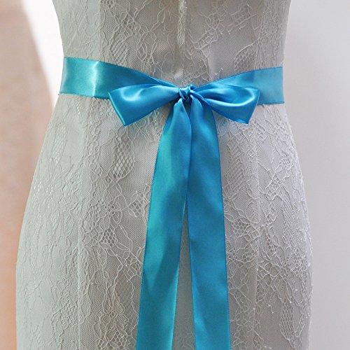 Blu Cinture Sposa Vestito Cintura Perle Cristallo Da Il Per Da Da Azalee Sposa Sposa Fusciacche Battente 7IzZx7q