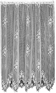 product image for Heritage Lace Tea Rose 60-Inch Wide by 63-Inch Drop Panel, Petal