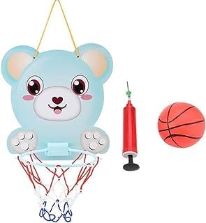 LYX Tabla de Baloncesto Colgante: Traje Deportivo para niños de Interior Colgante de Baloncesto Ajustable (2-6 años)