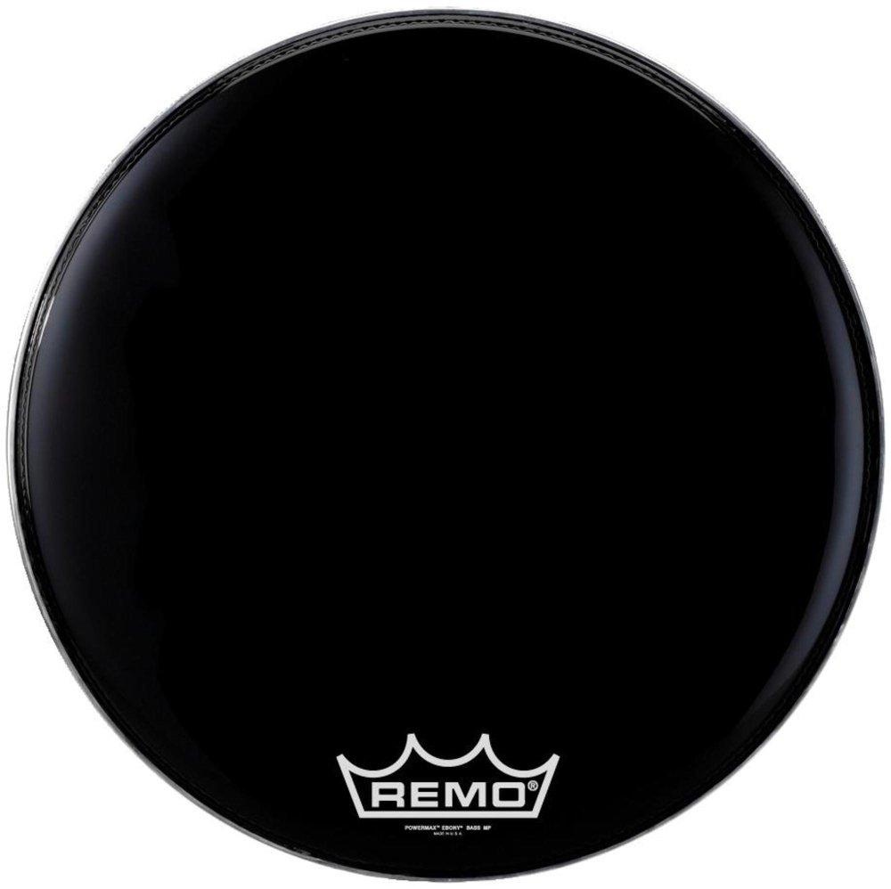 Remo Bass, POWERMAX, EBONY, 24