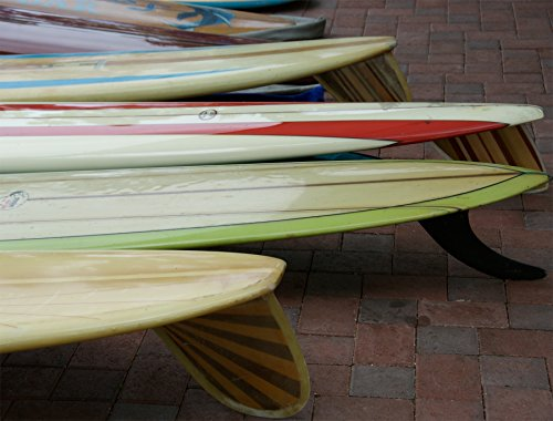 Old Surf Boards Hand Numbered Edition by