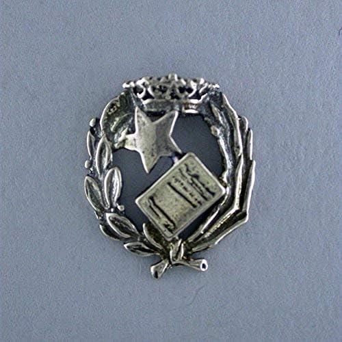Insigne de notaire JOYERIA en argent de loi by alylosilver. Comprend /Étui pour cadeau de No/ël