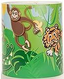 Medium Childrens Lampshade Jungle Scene by Raw Design