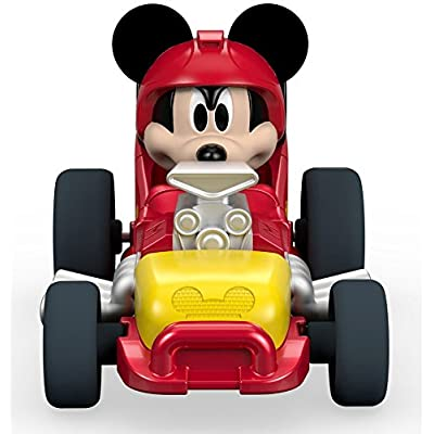 Fisher-Price Disney Mickey & the Roadster Racers, Mickey's Hot Rod: Toys & Games