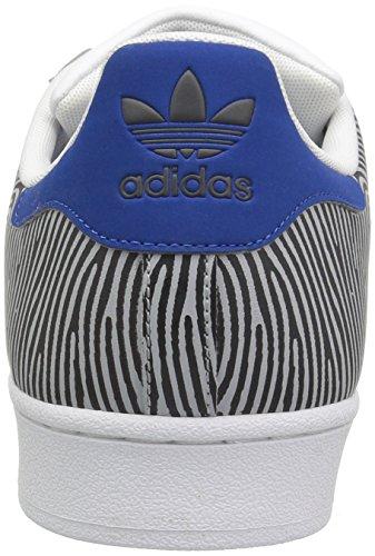 Adidas Originali Mens Superstar Fp Clonix, Dgsogr, Eqtblu