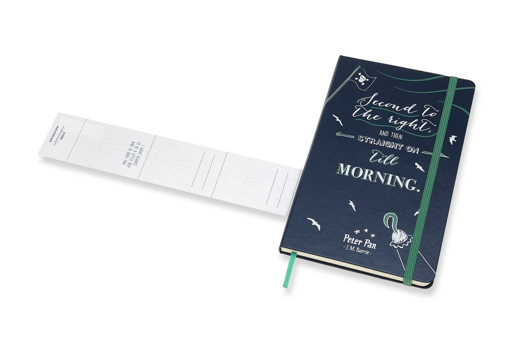 Moleskine Limited Edition Peter Pan Notebook Large Ruled...