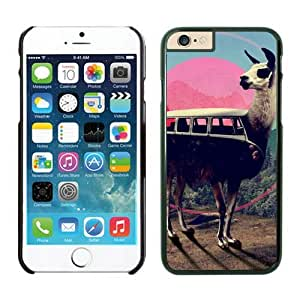 Funny llama iPhone 6 Cases Plus 5.5 Inches Cell Phone Black Cover Accessories