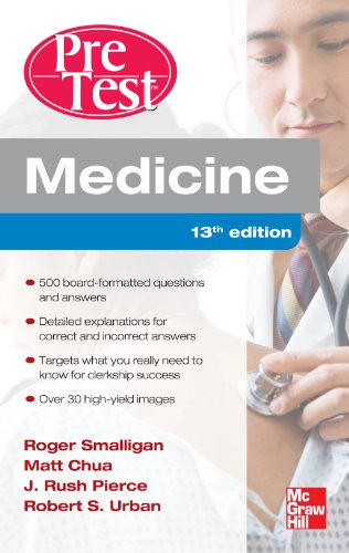 Medicine PreTest Self-Assessment and Review, Thirteenth Edition Pdf