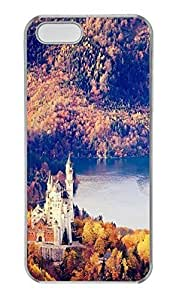 iPhone 5 5S Case, Personalized Protective Hard PC Clear Durable Case Cover for iPhone 5 5S Neuschwanstein Castle In Germany