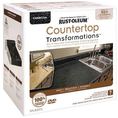 Rust-Oleum Countertop Transformations Kit, Charcoal (Paint Kit For Countertops)