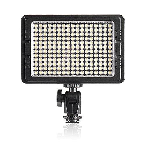 (Bestlight LED-204 Multi-Functional LED Video Light 180 Degrees Elevation for Sony Canon Nikon Pentax Olympus Samsung Panasonic JVC DSLR Cameras DV Camcorders)