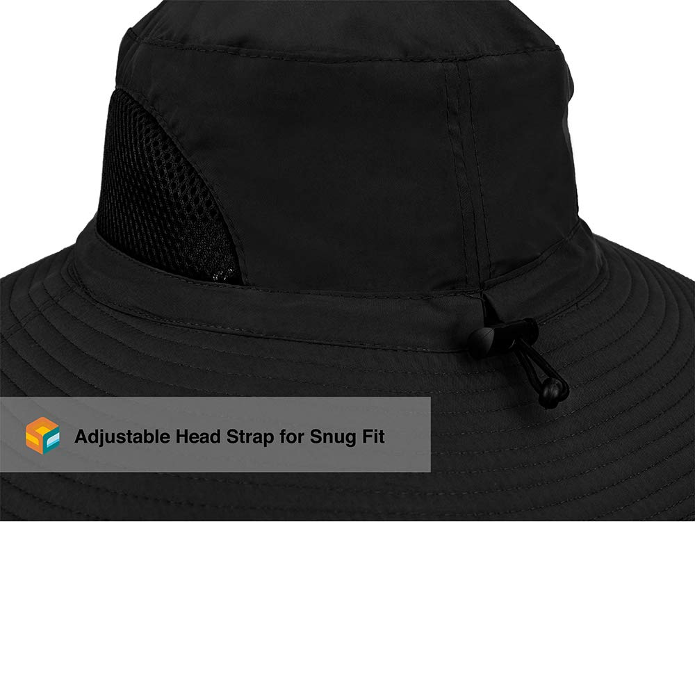 27649892 Amazon.com : SUN CUBE Premium Boonie Hat | Wide Brim Adjustable Chin Strap  | Outdoor Fishing, Hiking, Safari, Summer Bucket Hat | UPF 50+ Sun  Protection ...