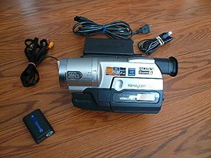 Amazon com : sony CCD-TRV208e pal system Hi8 analog camcorder