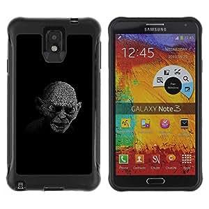 Planetar® ( My Precious Gollum ) Samsung Galaxy Note 3 III / N9000 / N9005 Hybrid Heavy Duty Shockproof TPU Fundas Cover Cubre Case