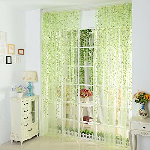 gardinenschals gr n lilashouse. Black Bedroom Furniture Sets. Home Design Ideas