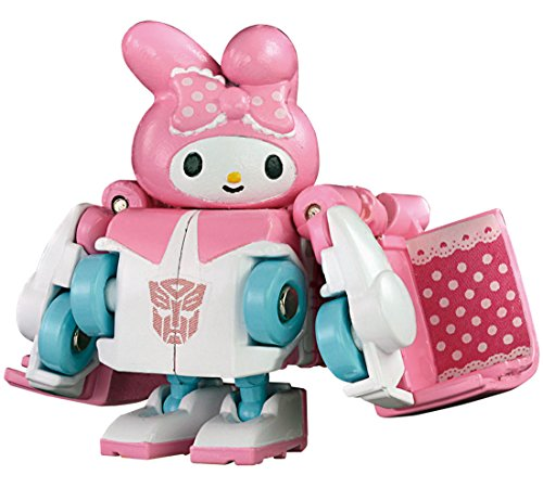 Takara Tomy Choro-Q Transformers Q-Collaboration QTC-06 Sanrio My Melody Action Figure