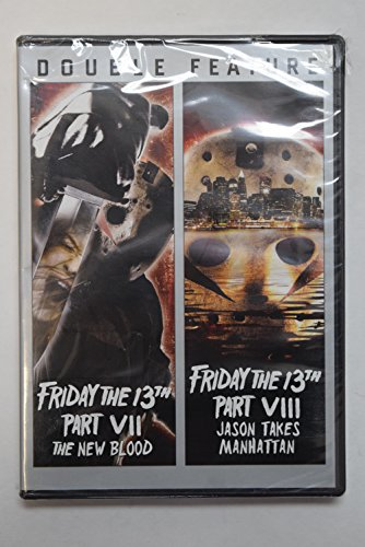 Friday the 13th Part VII - The New Blood, Friday the 13th Part VIII - Jason Takes Manhattan (Double Feature)