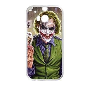 Batman Joker HTC One M8 Cell Phone Case White 218y-877292