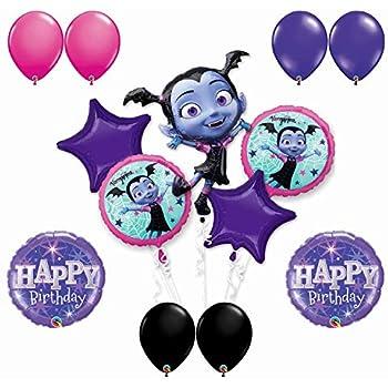 Amazon.com: Vampirina - Globo de fiesta de 4 cumpleaños ...