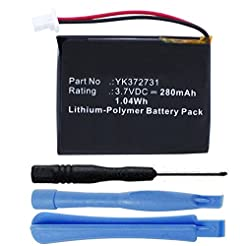 280mAh YK372731 Battery Replacement Comp...