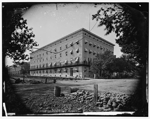Photo: Old Winder Building,17th,F Street,Washington DC,roads,1860