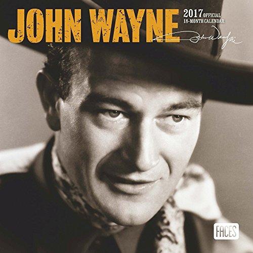 2017 John Wayne Mini Calendar - 7 x 7 Wall Calendar