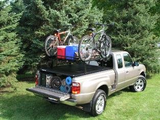 r Rail Soft Tonneau Rack - 59