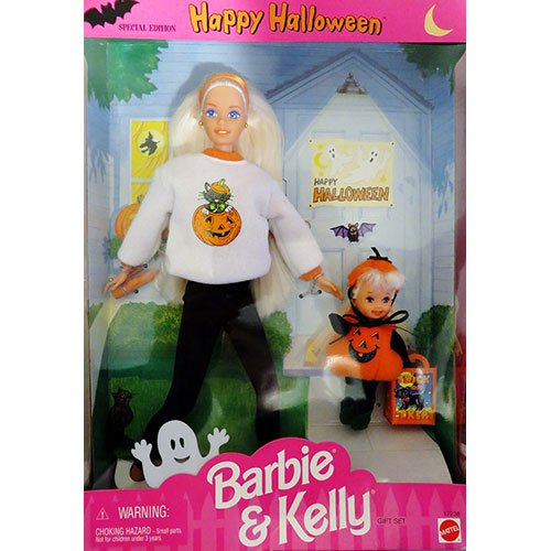 Barbie Happy Halloween KELLY Gift Set Special Edition (1996) -