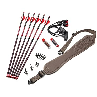 Parker 38-2270 Red Hot Crossbow Trophy Arrow and Accessory Kit