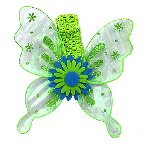 Dempsey Marie Pet Butterfly Wing Costume for Dogs or Cats - GREEN -
