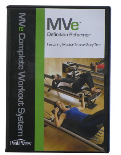 Peak Pilates Mve Definition Reformer Workout DVD