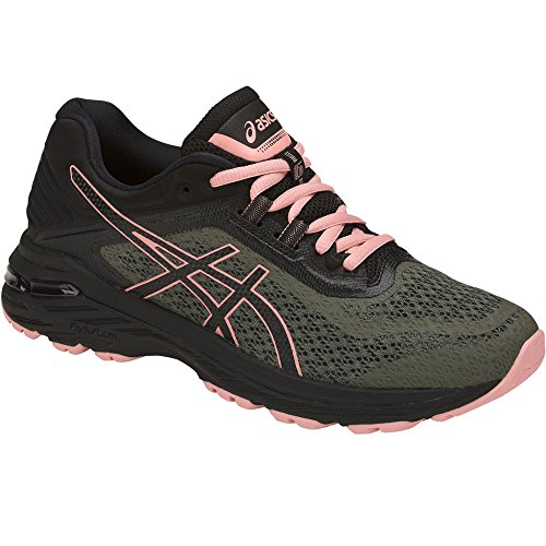 - ASICS Women's GT-2000 6 Trail Four Leaf Clover/Black/Black 9.5 B US B (M)