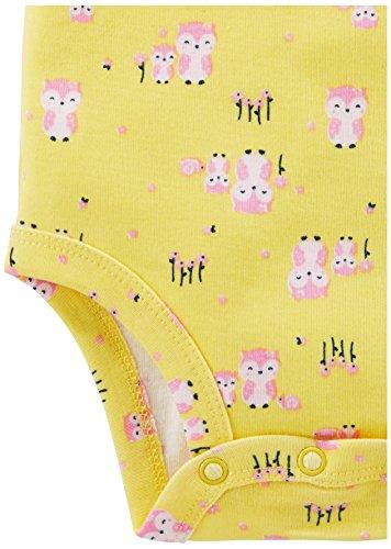 Simple Joys by Carter s Baby Girls 5-Pack Long-Sleeve Bodysuit ... cadb6a305