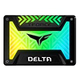 TEAMGROUP T-Force Delta RGB 250GB 2.5'' SATA III 3D NAND Internal Solid State Drive (SSD) - Black
