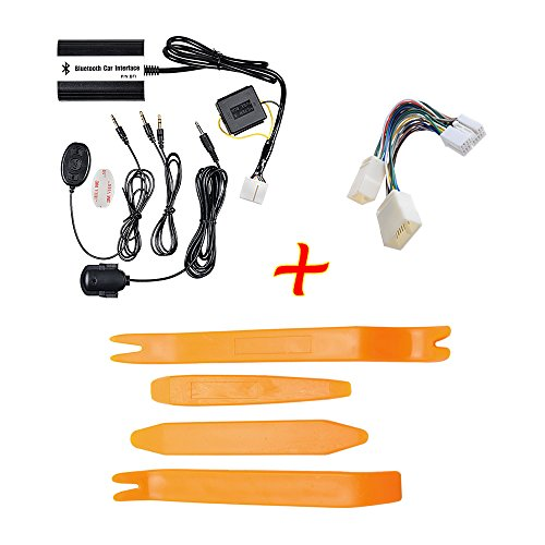 Psp 2007 Screen - Set Compatible with Honda 2.4 Bluetooth Interface Adapter Kit + Y-Harness Cable + Open Pry Removal Tool